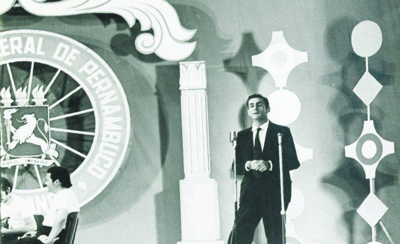 Ariano Suassuna na TV Universitária na década de 70.