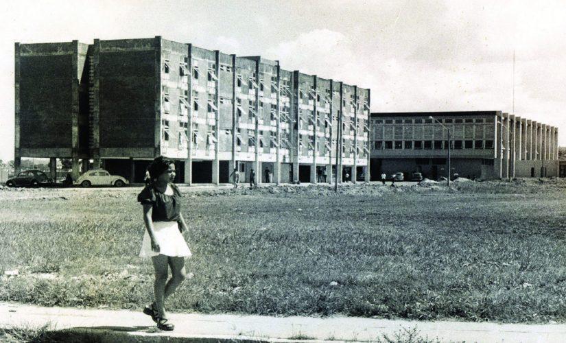 Casa  do Estudante e Restaurante Universitária na década de 70.