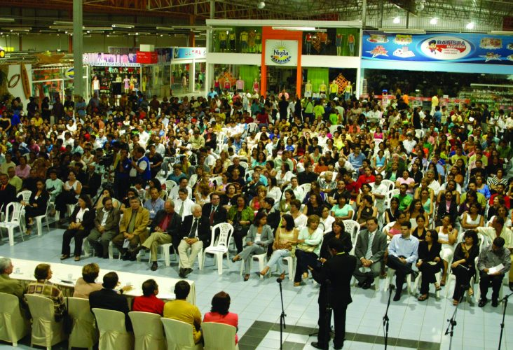 Aula Inaugural em Caruaru em 2006.