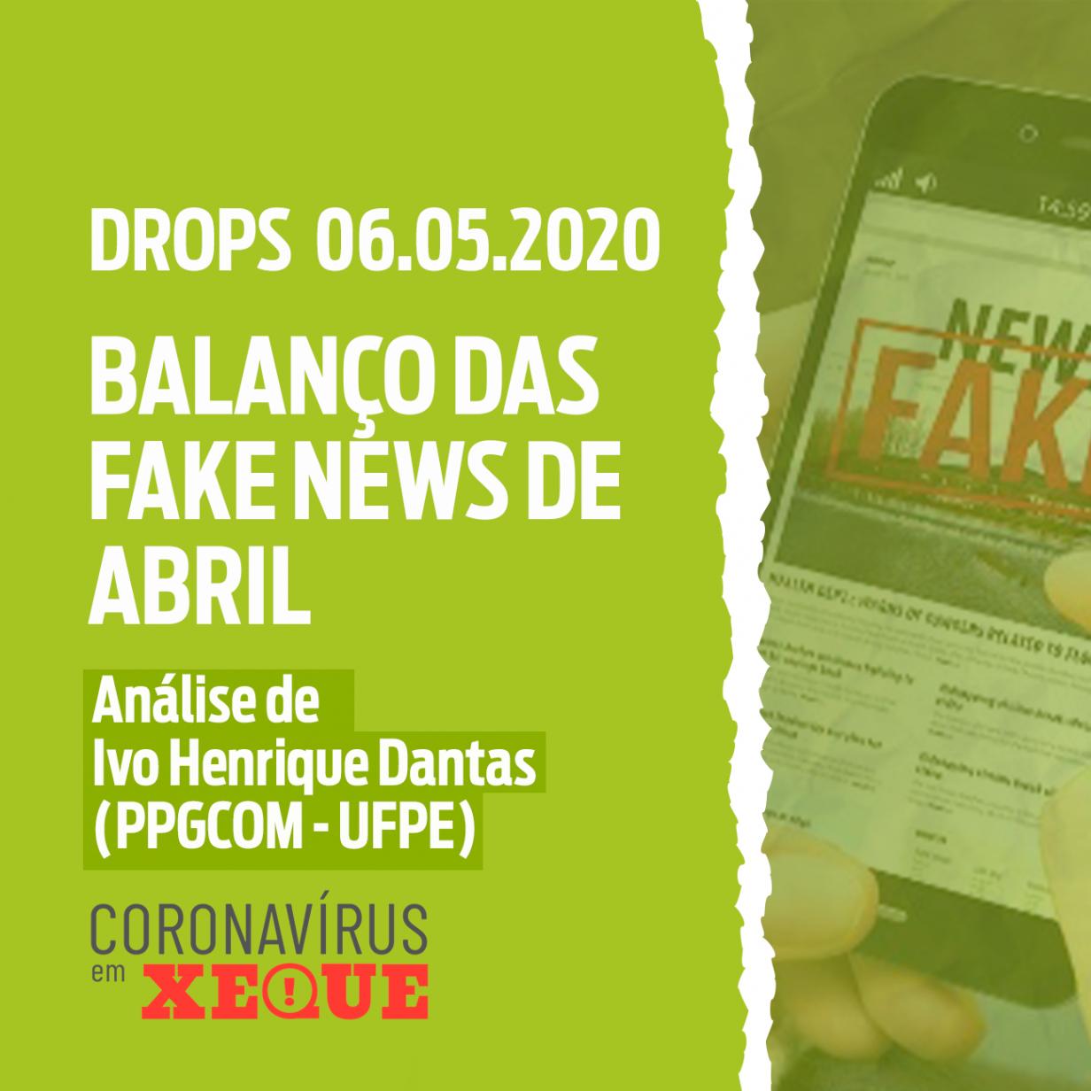 Balanço de Fake News de Abril